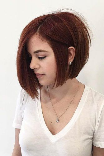 Asymmetrical Bob Haircuts to Try Something New picture1