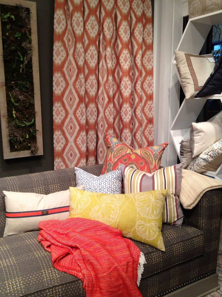 the bright and palette of thom filicia u0027s throw pillows by eastern