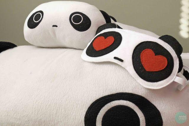 DIY: Máscara para dormir Panda-in-Love.