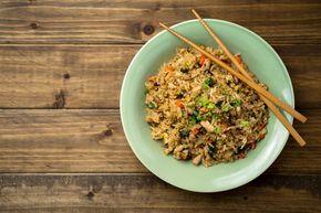 Schnelle gesunde Rezepte: Nasi-Goreng-Rezept mit Naturreis