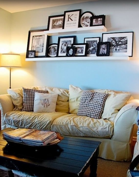 1000+ ideas about Above Couch on Pinterest | Shelves above couch, Mirror above couch and Couch