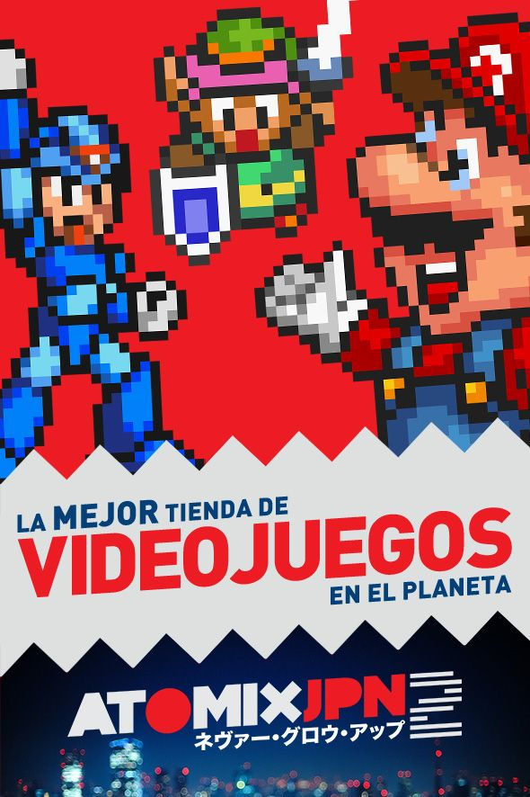 Conoce sobre La mejor tienda de videojuegos en EL PLANETA #AtomixJPN2