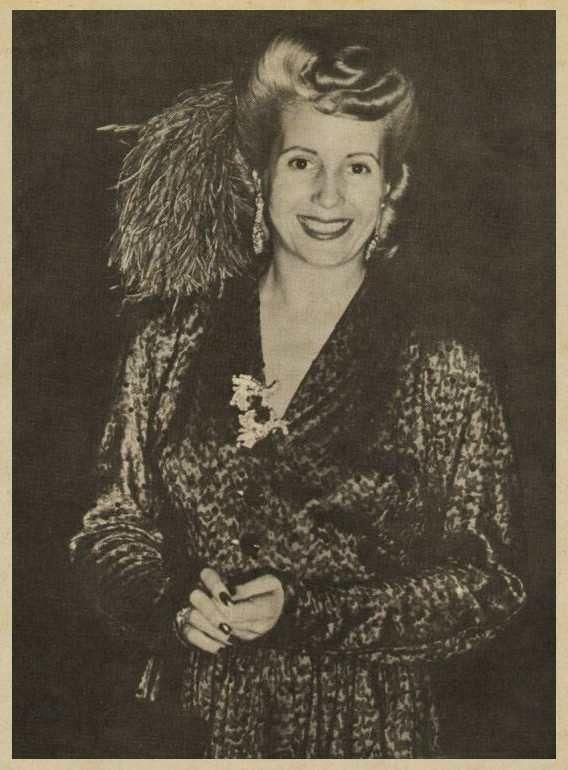 EVITA en España 1947