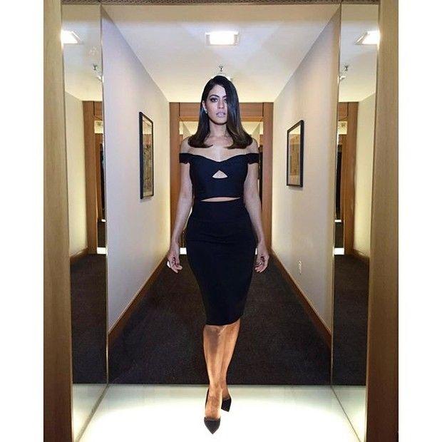 RetaFinall.blogspot.com.br: Carol Castro exibe as curvas com look justíssimo d...