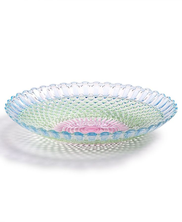 Viva by Vietri Parlor Glass Serving Bowl, Created for Macy's