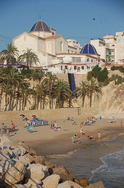 Cala del Mal Pas, Benidorm, Valencia, Spain
