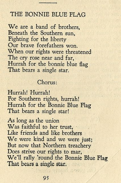 """Library Lagniappe: Southern Songs of the Confederacy--- In 1923, the United Daughters of the Confederacy offered a prize for the best compilation of """"Old Southern Songs of the Period of the Confederacy."""" The Monroe Library Special Collections & Archives is fortunate to have a copy of this 1926 compilation in its collection. Come by and check it out Monday through Friday, 8:30 – 4:45!"""