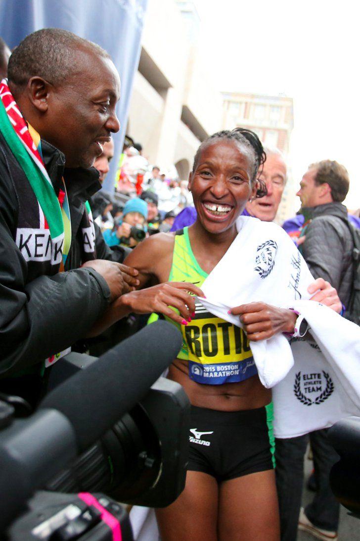 The Inspiring Men's and Women's Winners of the Boston Marathon