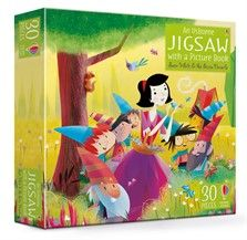 Usborne Jigsaw with Picture Book - Snow White