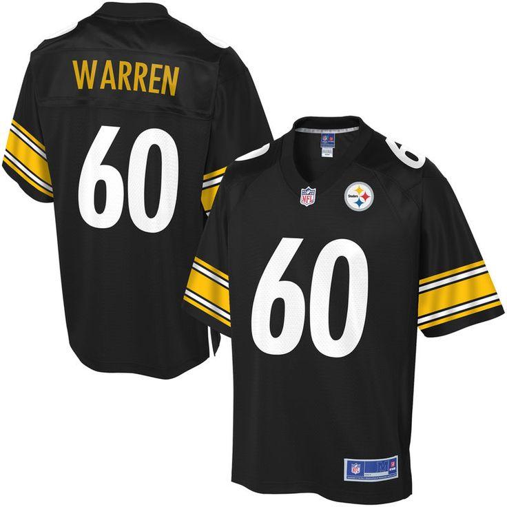 NFL Pro Line Men's Pittsburgh Steelers Greg Warren Team Color Jersey