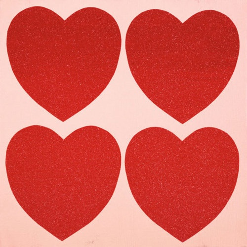 Andy Warhol - Hearts