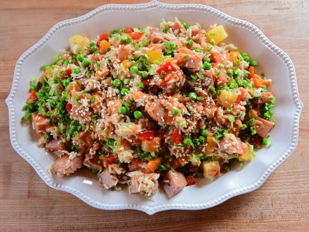 Get Spam Fried Rice Recipe from Food Network