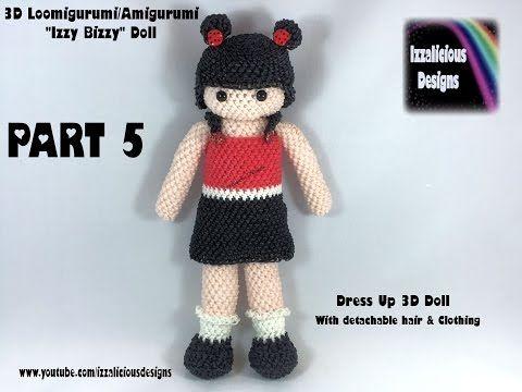Amigurumi Dress Up Dolls : 17 Best images about rainbow loom 2 on Pinterest Loom ...