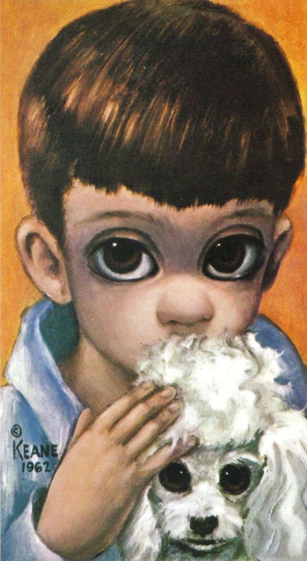 the art of margerat keane | Big Eyes, paintings by Margaret Keane
