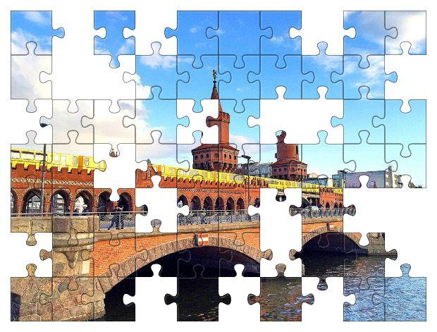 Free Jigsaw Puzzle Online - Oberbaum Bridge  #Game #JigsawPuzzle #Puzzle #BoardGames