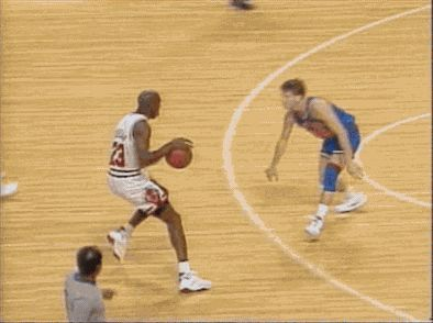 Michael Jordan. The best player of all time.