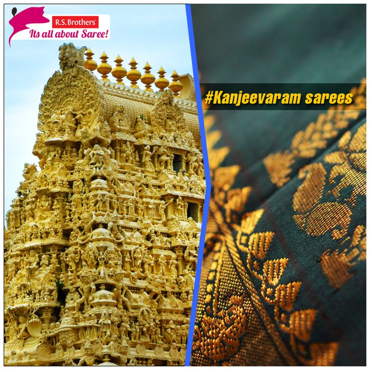 Lets begin with the most famous bridal saree of South India. #KanjeevaramSaree basically comes from a place called #Kanchipuram in Tamil Nadu. It is a type of saree traditionally made by weavers from Kanchipuram.  Exclusive Kanchipuram sarees are Available with Various Design's @R.S. Brothers.  (Image copyrights belong to their respective owners)
