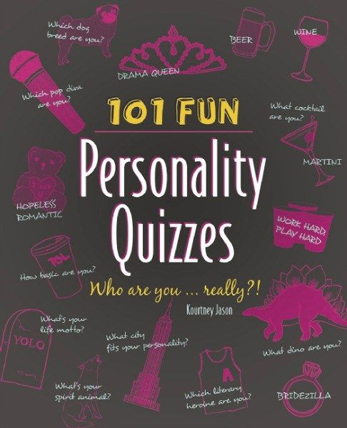 101 Fun Personality Quizzes: Who are you….really?