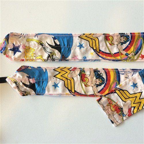 FitnessSanctum.com Wonder Woman CrossFit-style Wrist Wraps from Atlas Power Wraps -- $28.99---- (fitnessssanctum.com...)