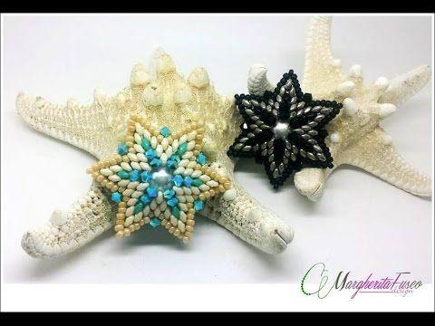 "Tutorial Orecchini TANGO collaborazione con ""La Pallina"" - Swarovski Superduo Perline - YouTube"
