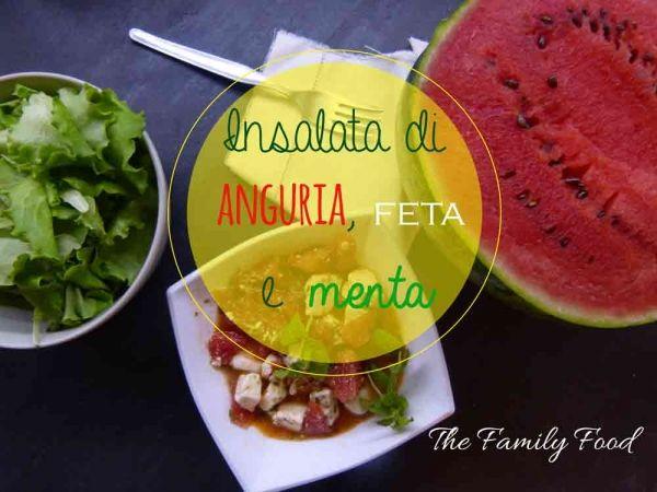 Un'ottima ricetta facile e veloce da preparare: la ricetta dell'insalata di anguria, feta e menta di mammapretaporter.it
