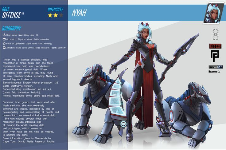 ArtStation - OVERWATCH fan art character , Katya Cyan