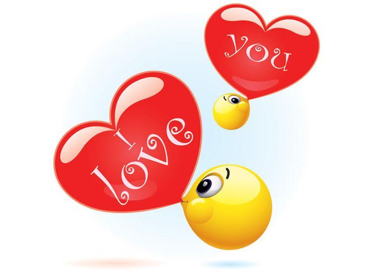 Знакомства смайлы любовь
