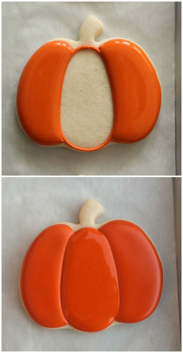 Segmented Pumpkin Cookies