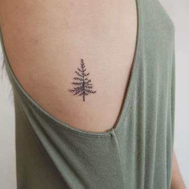 Tatouage côté nature - Pinterest.com - trouvé sur Instagram