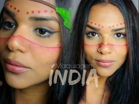 Maquiagem de Índia - Inspire-se!!! - YouTube