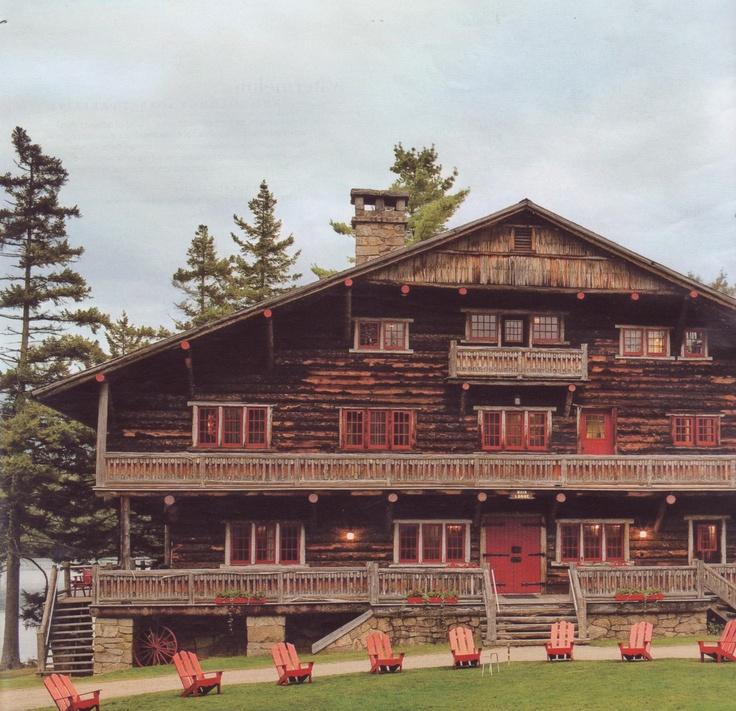 Old Vanderbilt estate...Camp Sagamore in upstate NY