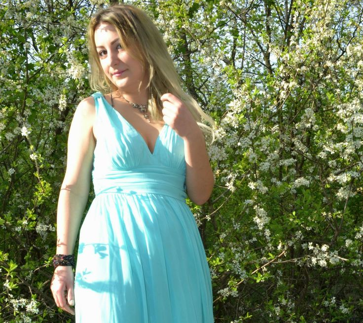 Gorgeous Dress http://kaiyoaino.blogspot.ro/2014/04/ootd-spring-pastel.html