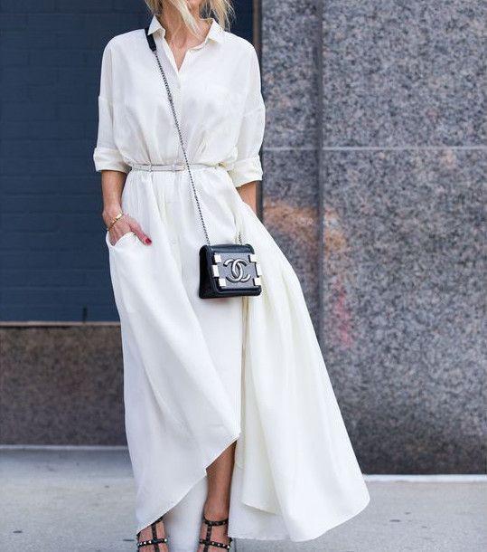 Comment porter une robe longue en journée ?