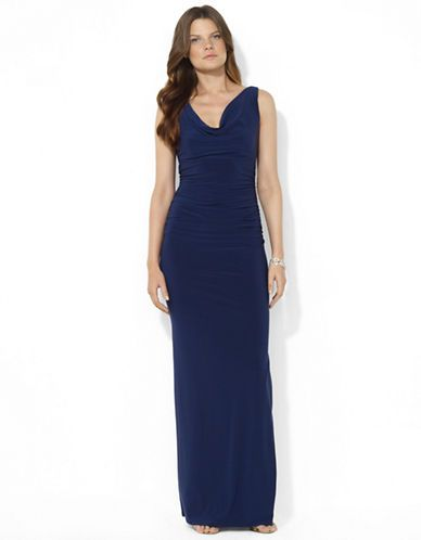 Women's Apparel | Formal/Evening | Ulli Cowlneck Dress | Lord and Taylor