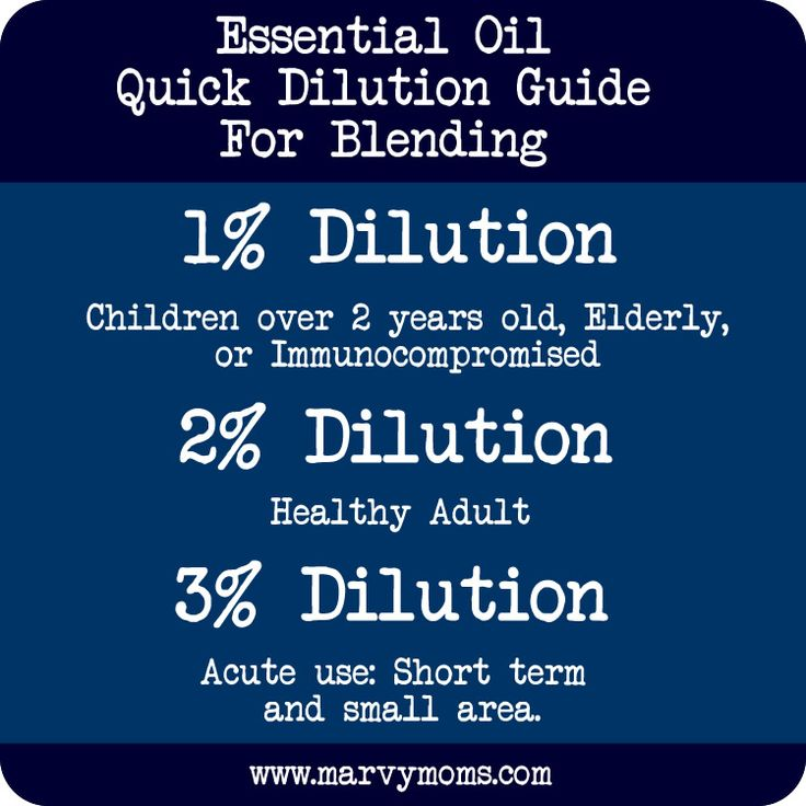 Dilution Calculator That Will Change How You Use Essential Oils Forever - Marvy Moms