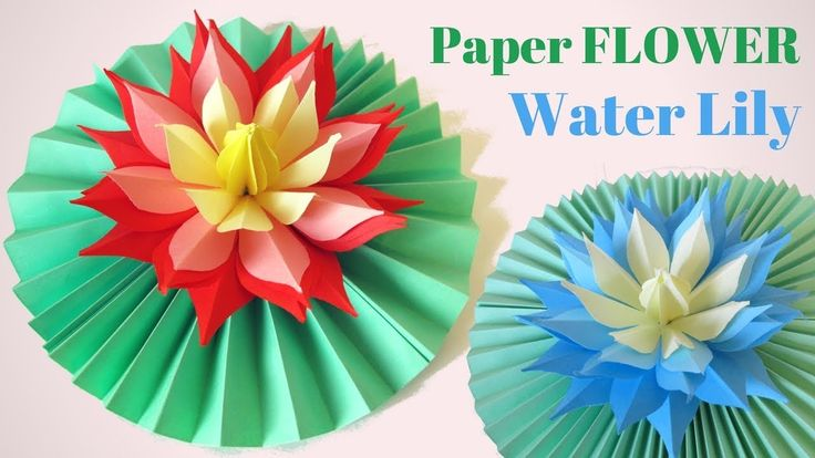 In this tutorial I will show you how to make a hand made paper of Lily, Lotus flower! This paper lily can make even a child, it is done very easily and simpl...