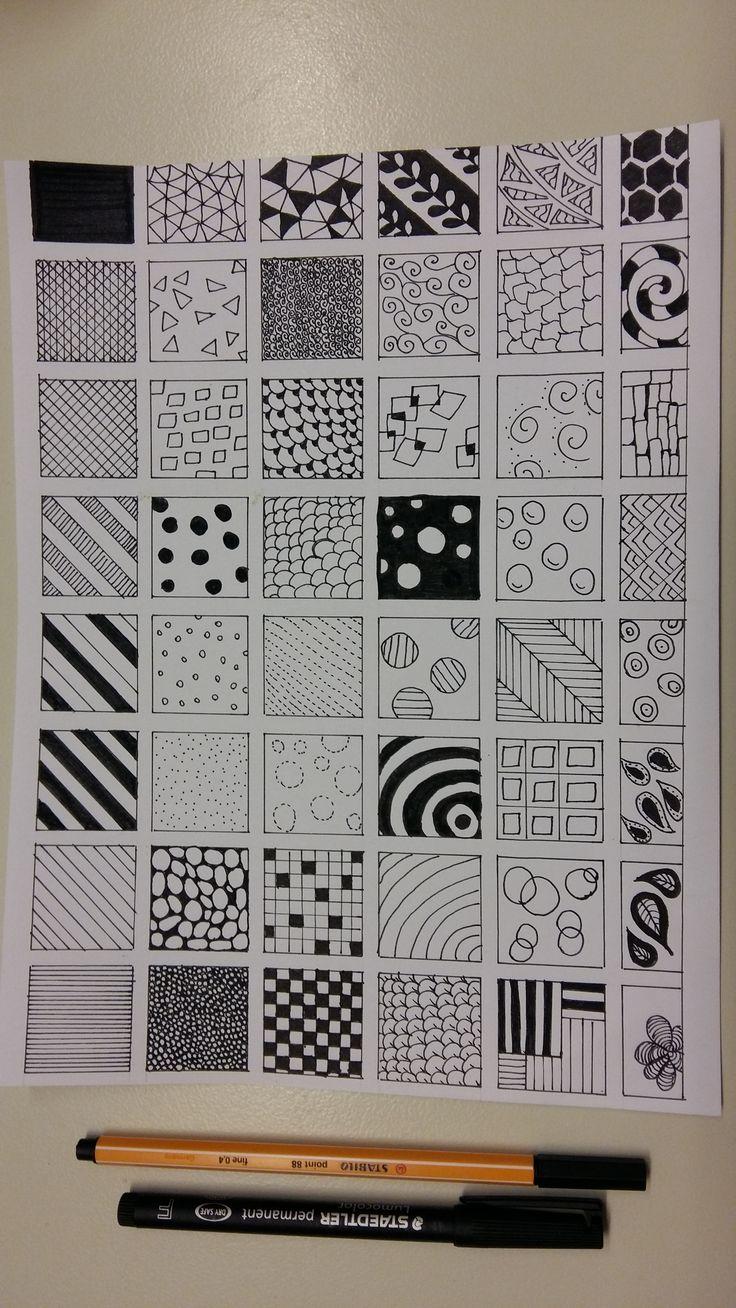 Doodle Patterns... practice practice practice!