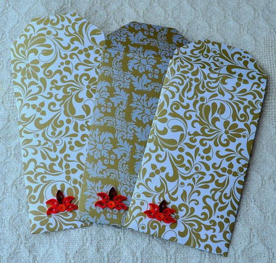 Giftcard Holder Money Holder Diwali Gift Card by @papersimplicity