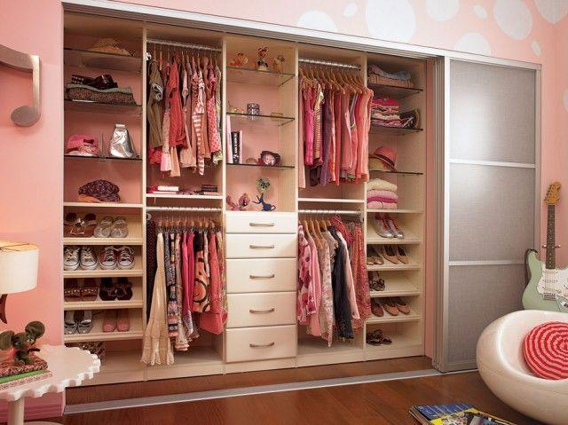 California closets teenager custom closet pink