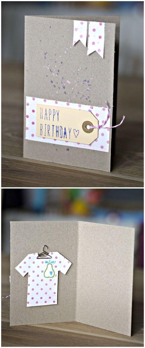 Geburtstagskarte mit Gutschein von Melanie Vogt für www.danipeuss.de