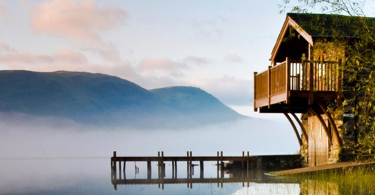 The Duke of Portland Boathouse, Lake District. Spectacular.