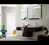 Lavabos céramique collection Lovely par Allia le spécialiste de la salle de bains. www.allia.fr