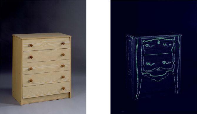 uniquement les 25 meilleures id es de la cat gorie peinture phosphorescente sur pinterest. Black Bedroom Furniture Sets. Home Design Ideas