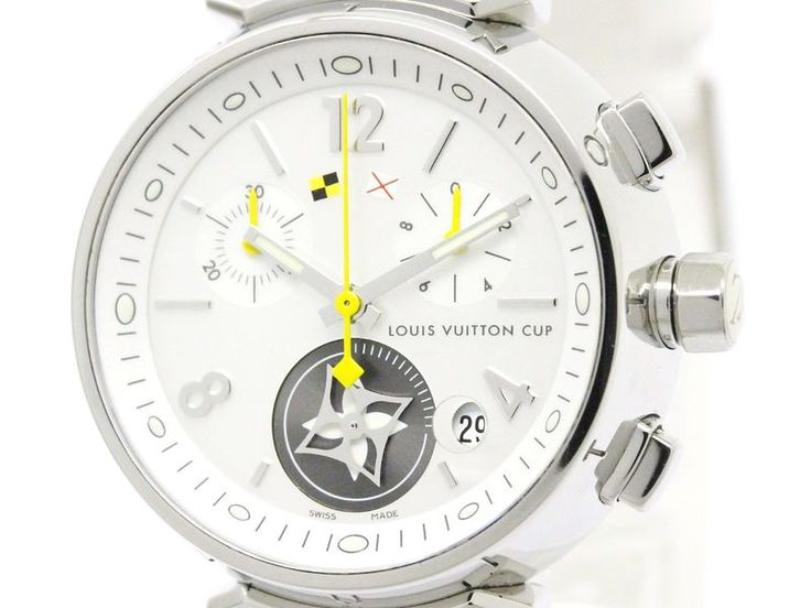 Polished #LOUISVUITTON Tambour Lovely Cup MOP Dial Ladies Watch Q132C (BF107948): #eLADY global accepts returns within 14 days, no matter what the reason! For more pre-owned luxury brand items, visit http://global.elady.com