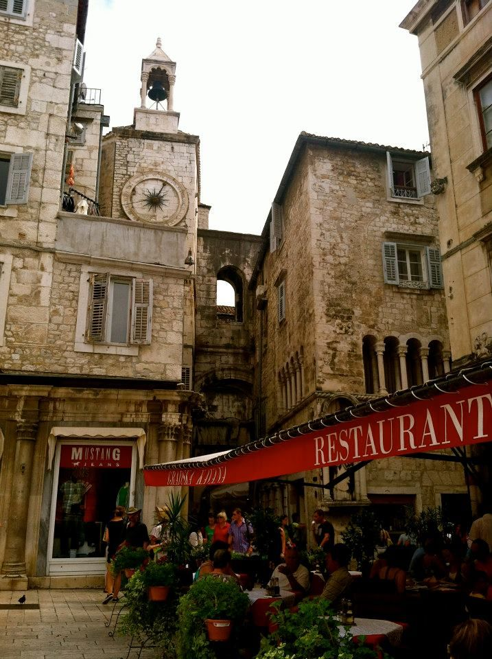 This was once built as a retirement home for Diocletian's personal use centuries ago  Split, Croatia #digitalnomads #destinationunknown #nomadlife
