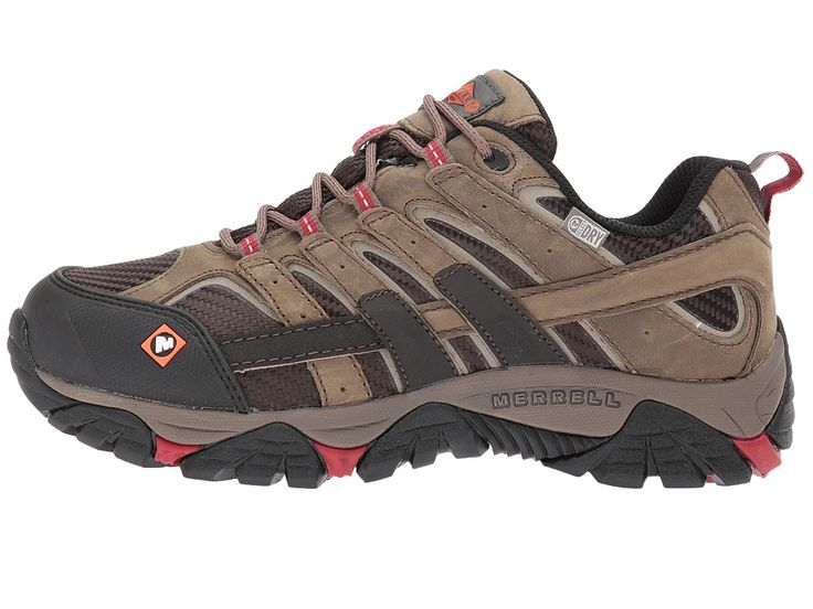 Merrell Work Moab 2 Vent Waterproof SR Women's Lace up casual Shoes Boulder