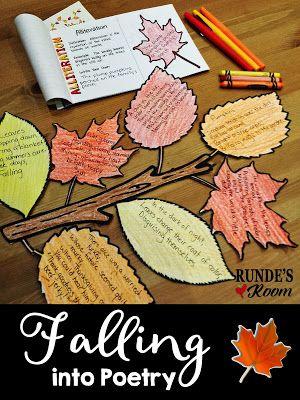 Upper Grade Classroom Ideas for October