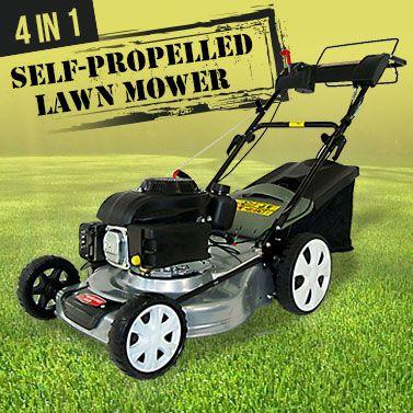 Self Propelled Cordless Petrol Lawn Mower & Mulcher | Buy Top Sellers