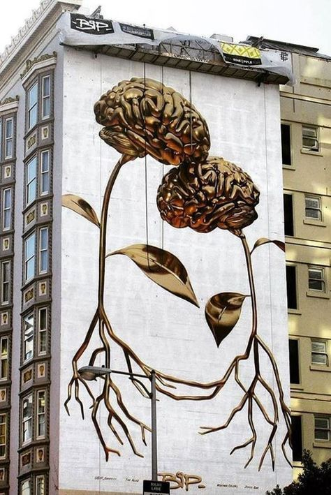 30 Fascinating Street Art Examples from All Around The World - Doozy List