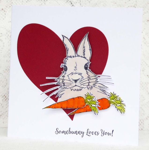 Some Bunny Love by Fliss Goodwin | That's Blogging Crafty!